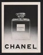 Pub 1952 Parfum Parfumeur CHANEL Bois Des Iles Parfums - Publicités