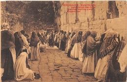 The Jews Wailing Wall Jerusalem ISRAEL - Israel