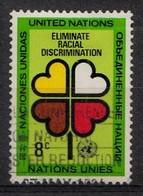 Nations Unies New-York 1971 Mi.Nr: 236 Internationales Jahr Gegen...  Oblitèré / Used / Gebruikt - Oblitérés