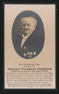 CONSTAND GABRIELS - ARMMEESTER STAD GENT - GENT 1844  1924 - Décès