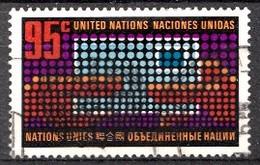 Nations Unies New-York 1972 Mi.Nr: 242 Freimarke  Oblitèré / Used / Gebruikt - New-York - Siège De L'ONU