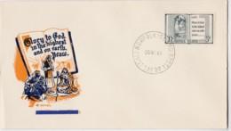 Norfolk Island 1961 Christmas Royal Unaddressed FDC - Norfolk Island