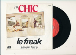 """CHIC  """" LE FREAK """" Disque ATLANTIC 1978  TRES BON ETAT - Rock"""