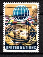 Nations Unies New-York 1974 Mi.Nr: 271 Globus  Oblitèré / Used / Gebruikt - Oblitérés
