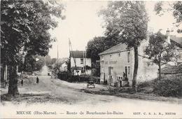 52 MEUSE - Route De Bourbonne Les Bains - Francia