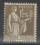 France - YT 287 * MH - TB - 1932-39 Paix