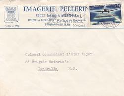 ÉPINAL - VOSGES - (88) - PEU COURANT COURRIER DE 1964 - IMAGERIE PELLERIN. - Covers & Documents