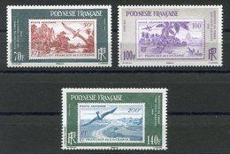 RC 12692 POLYNÉSIE N° 931 / 933 RÉEDITION POSTE AÉRIENNE NEUF ** - Französisch-Polynesien
