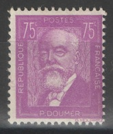 France - YT 292 * MH - TB - 1933 - Paul Doumer - France