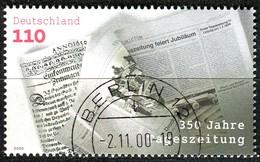 BRD - Mi 2123 - OO Gestempelt (K) - 110Pf      Tageszeitungen - Oblitérés