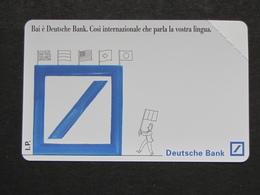 ITALIA 2401 C&C 372 GOLDEN - DEUTSCHE BANK LIRE 5.000 - NUOVA SMAGNETIZZATA - Italia