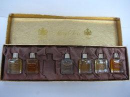 """MARY CHESS  """" COFFRET ANGLAIS AVEC   6 MINIS ( Il En Manque Une)VOIR ET LIRE !! - Miniatures De Parfum"""