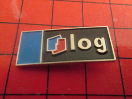413b Pin's Pins / Beau Et Rare / THEME : CARBURANTS / LOGO ELF LOG Pin's D'entreprise - Carburants