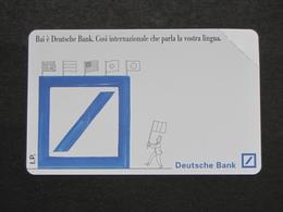 ITALIA 2402 C&C 373 GOLDEN - DEUTSCHE BANK LIRE 10.000 - NUOVA SMAGNETIZZATA - Italia