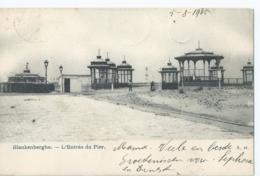 Blankenberge - Blankenberghe - L'Entée Du Pier - N. 40 - 1905 - Blankenberge
