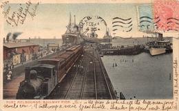 Port Melbourne Railway Pier AUSTRALIA - Melbourne