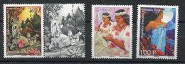 RC 12695 POLYNÉSIE N° 939 + 940 / 941 ANNÉE DU LIÈVRE ET JOURNÉE DE LA FEMME NEUF ** - Polynésie Française
