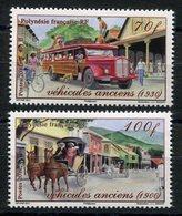 RC 12697 POLYNÉSIE N° 949 / 950 VÉHICULES ANCIENS NEUF ** - Polynésie Française