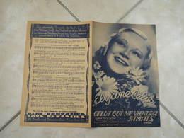 Celui Qui Ne Viendra Jamais (Élyane Célis)-(Paroles Marcel Demas)-(Musique Léo Poll) Partition 1939 - Liederbücher