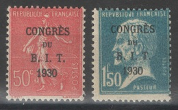 France - YT 264-265 ** MNH - TB - 1930 - France