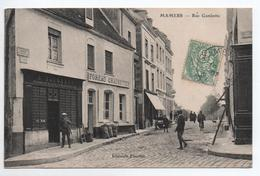 MAMERS (72) - RUE GAMBETTA - DEVANTURE DE MAGASIN - Mamers