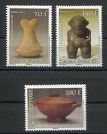 RC 12699 POLYNÉSIE N° 953 / 955 HEIVA SCULPTURES NEUF ** - Polynésie Française
