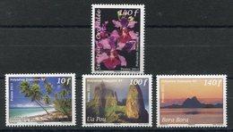 RC 12700 POLYNÉSIE N° 956 + 957 / 959 ORCHIDÉE ET PAYSAGES NEUF ** - Polynésie Française