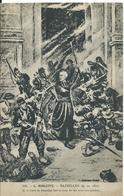 ***   MERLETTE- BAZEILLES EN 1870. M.LE CURE FAIT LE COUP DE FEU AVEC NOS SOLDATS - History