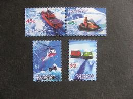 Territoire Antarctique Australien: TB Série N° 115 Au N° 118, Neufs XX. - Unused Stamps