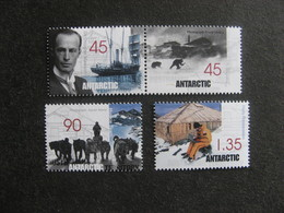 Territoire Antarctique Australien: TB Série N° 119 Au N° 122, Neufs XX. - Australian Antarctic Territory (AAT)