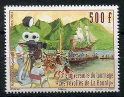 """RC 12701 POLYNÉSIE N° 972 CINÉMA TOURNAGE """"LES RÉVOLTÉS DE LA BOUNTY """" NEUF ** - Polynésie Française"""