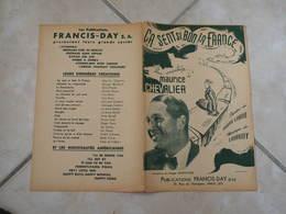 Ca Sent Si Bon La France (Maurice Chevalier)-(Paroles J. Larue)-(Musique Loquiguy) Partition 1942 - Liederbücher