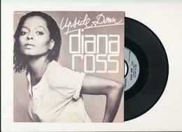 "DIANA ROSS "" UPSIDE DOWN  "" Disque M MOTOWN 1980 TRES BON ETAT - Rock"