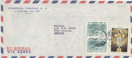Peru Air Mail Cover Sent To Denmark 18-5-1971 - Peru