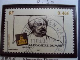 "2000-2009   Timbre  Oblitéré N° 3536     "" Alexandre Dumas    ""     0.50 - France"