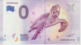 Billet Touristique 0 Euro Souvenir France 62 Nausicaa 2019-4 N°UEBK000930 - EURO