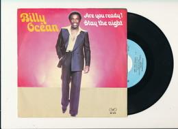 """BILLY OCEAN """" ARE YOU READY """" Disque  GTO 1980  TRES BON ETAT - Rock"""