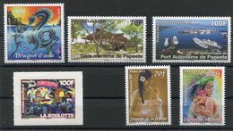 RC 12712 POLYNÉSIE N° 978 / 983 TIMBRES EMIS EN 2012 NEUF ** - Polynésie Française