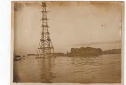 UKRAINE. # 2076 A PHOTO. KIEV. HARBOR. 1930. - Proiettori Cinematografiche
