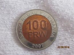 Rwanda: 100 Francs 2007 - Rwanda