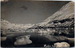 ISLANDE - Hafés à Seyfisferdi - Islande