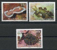 RC 12716 POLYNÉSIE N° 991 / 993 SÉRIE FAUNE MARINE NEUF ** - Polynésie Française