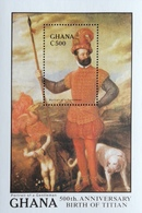 Ghana  1989 Titian 500th. Birth Anniv S/S - Ghana (1957-...)