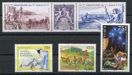 RC 12719 POLYNÉSIE N° 1007 / 1011 TIMBRES ÉMIS EN 2012 NEUF ** - Neufs