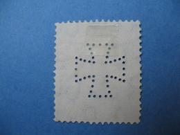 Perforé Perfin Lochung , Great Britain - Grande Bretagne    See, à Voir  (See The Initial - Drawing) - Gran Bretaña