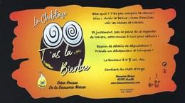 Etiquette Biere Rousse La Choletaige T'as La Berlue  5% 75-cl   Brasserie Maran Nuaillé 49 - Bière