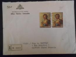 San Marin,  Lettre Recommandee De 1964 Pour Castres - Lettres & Documents