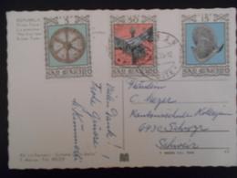 San Marin,  Carte De 1975 Pour Schwzr - Lettres & Documents