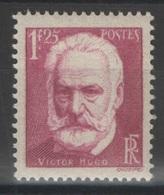 France - YT 304 ** MNH - TB - 1935 - Victor Hugo - France
