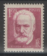 France - YT 304 ** MNH - TB - 1935 - Victor Hugo - Neufs